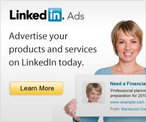 Advertise on LinkedIn